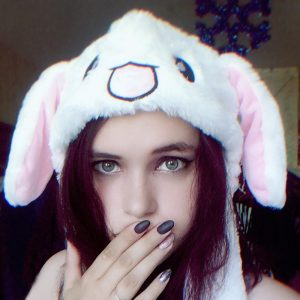 Rabbit Hat with Moving Ears 1