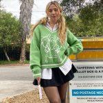 Long Sleeve Sweaters V Neck 2
