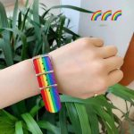 Nylon Rainbow  Bracelet 4