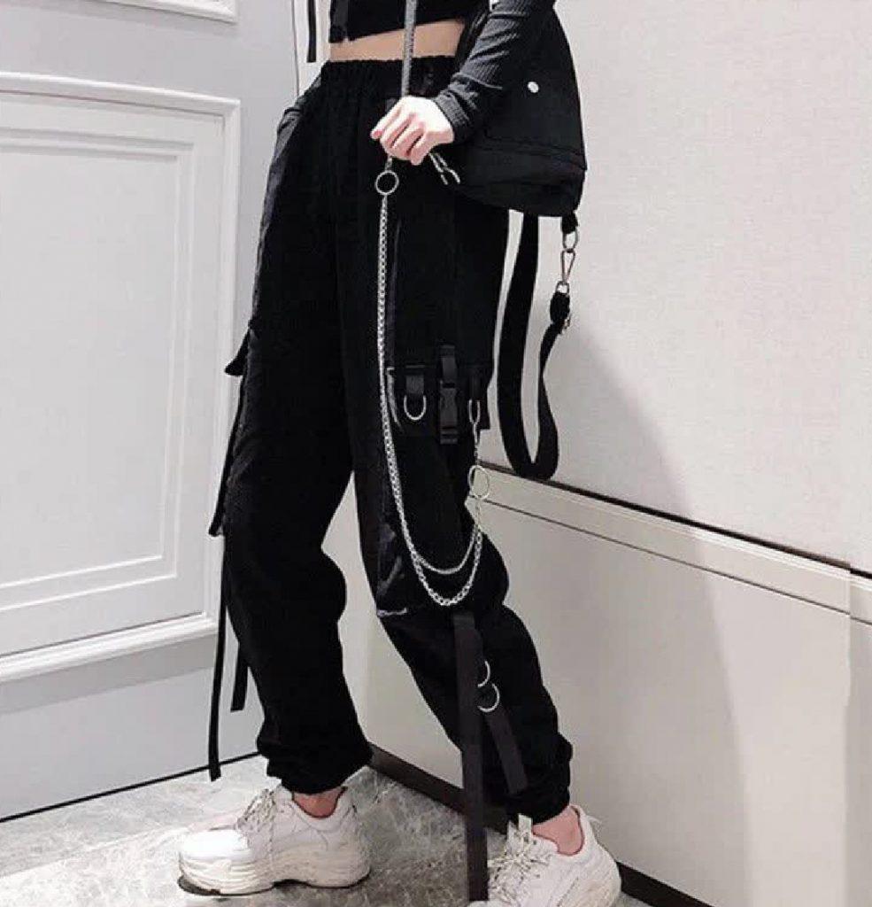 cargo e-girl pants