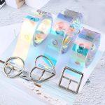 Holographic Transparent Belt 1
