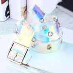 Holographic Transparent Belt 5