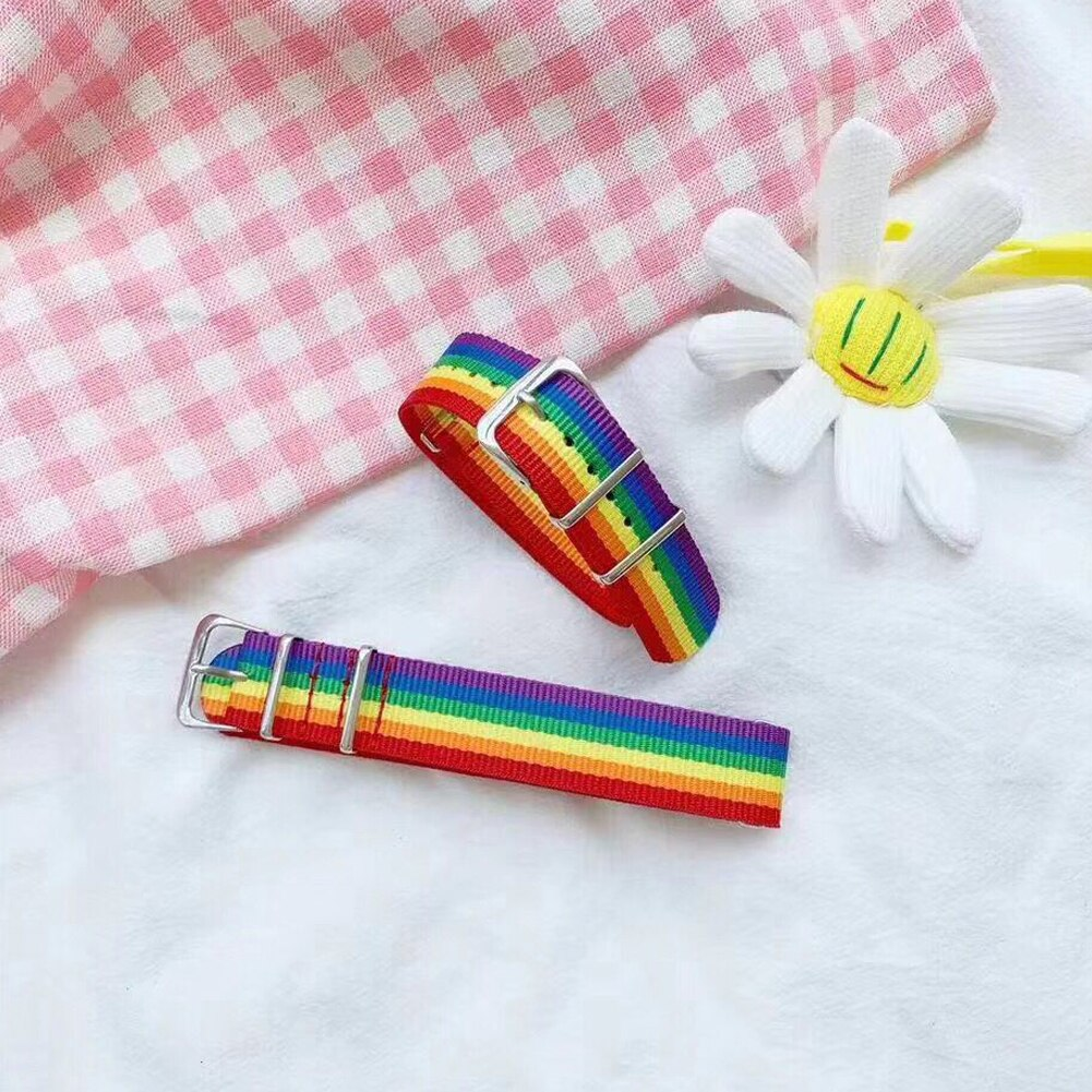 Nylon Rainbow Bracelet 3