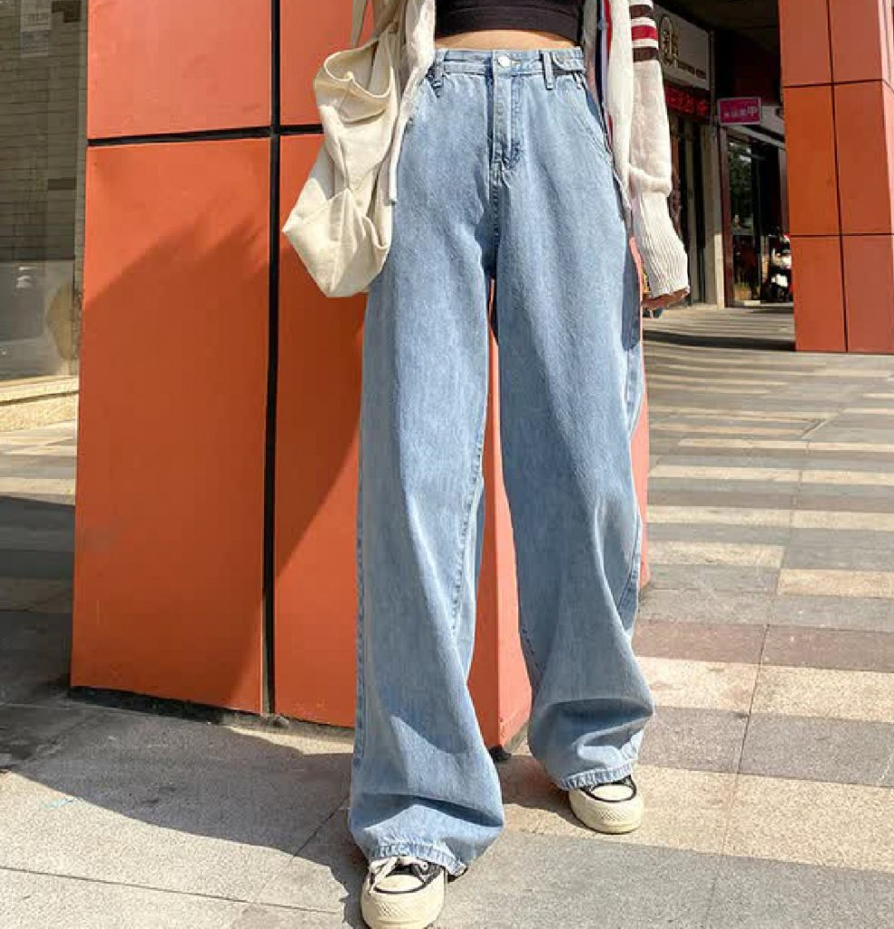 aesthetic pants with hight waist
