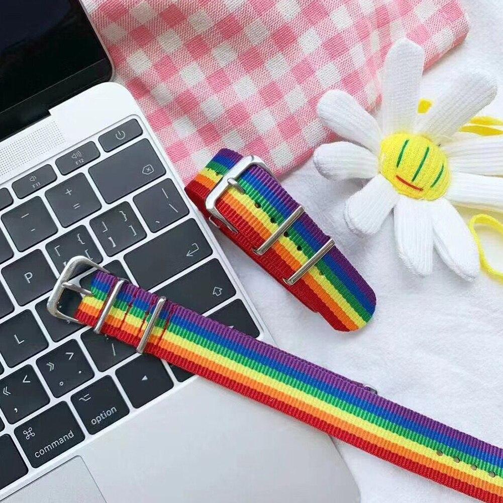 Nylon Rainbow Bracelet 2