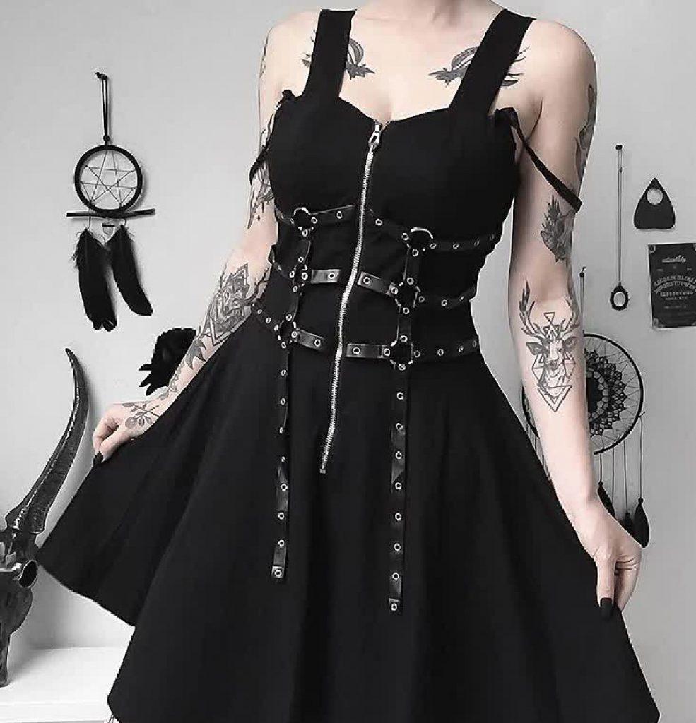 Gothic e-girl dress