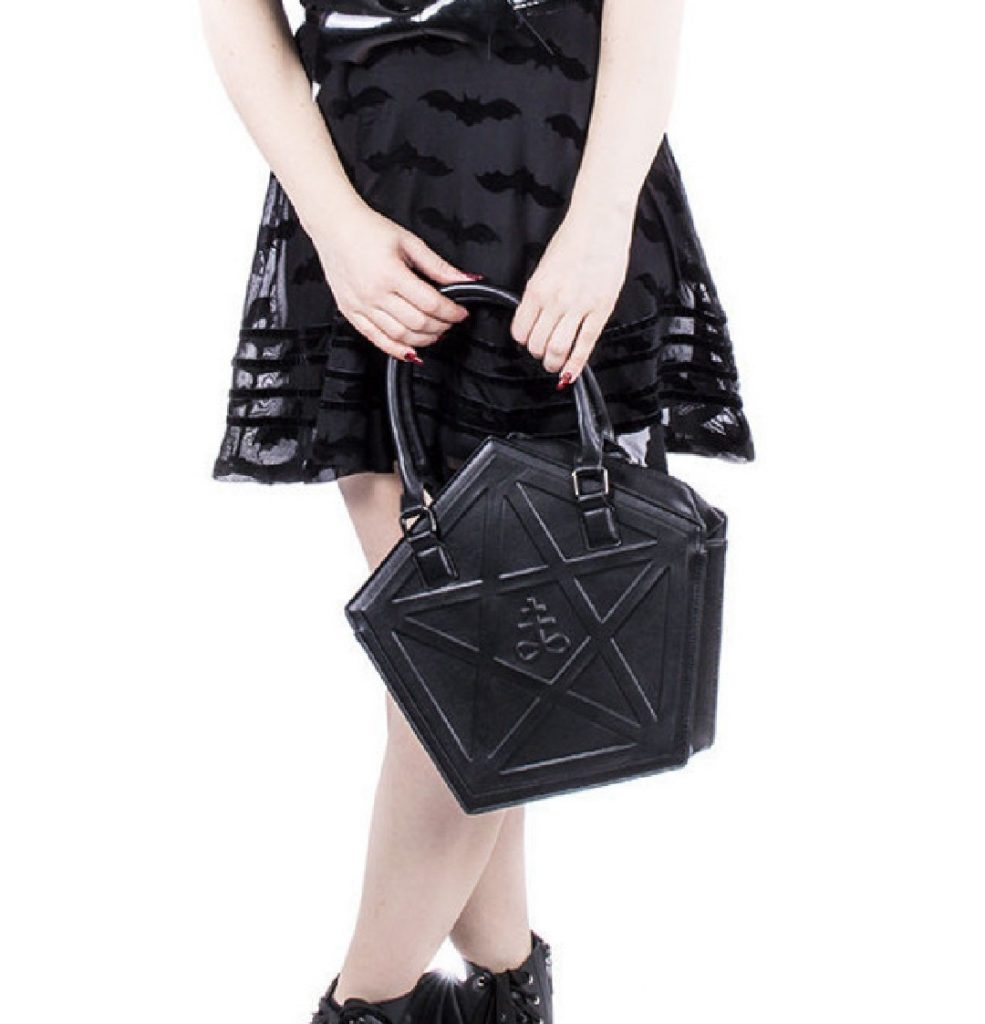 Gothic black bag