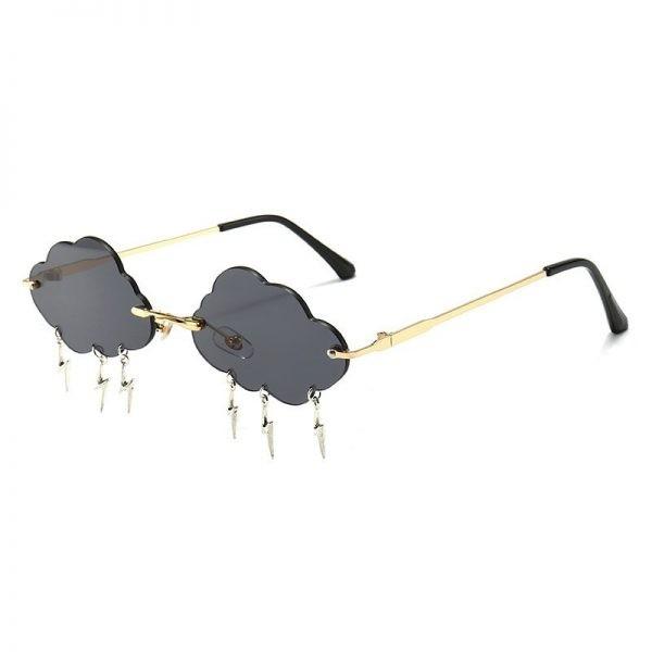 Clouds Rimless Sunglasses 4