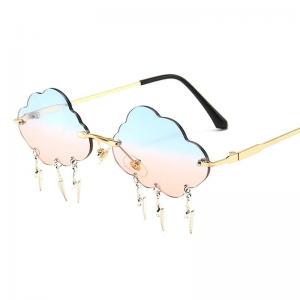 Clouds Rimless Sunglasses