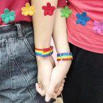 Nylon Rainbow  Bracelet 5