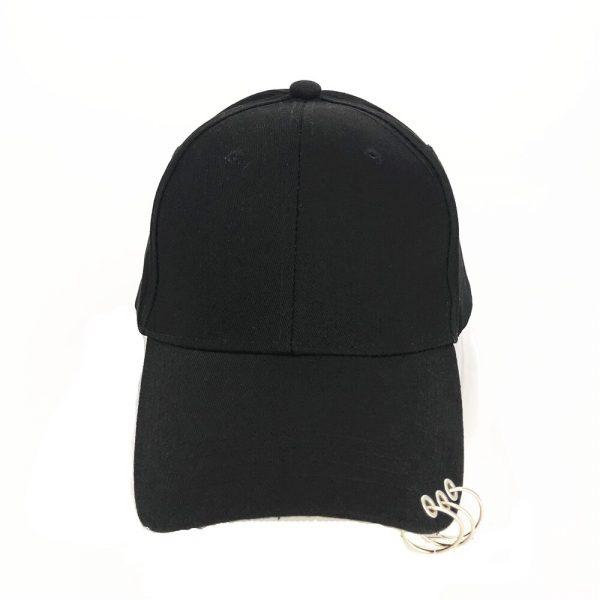 Baseball Cap with rings  2