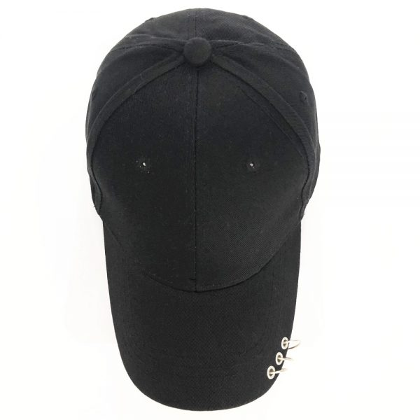 Baseball Cap with rings  4