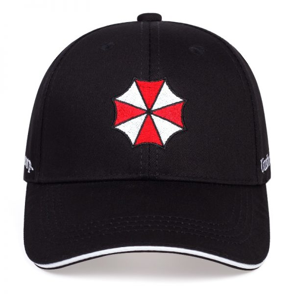 Baseball cap with Umbrella embroidery 2