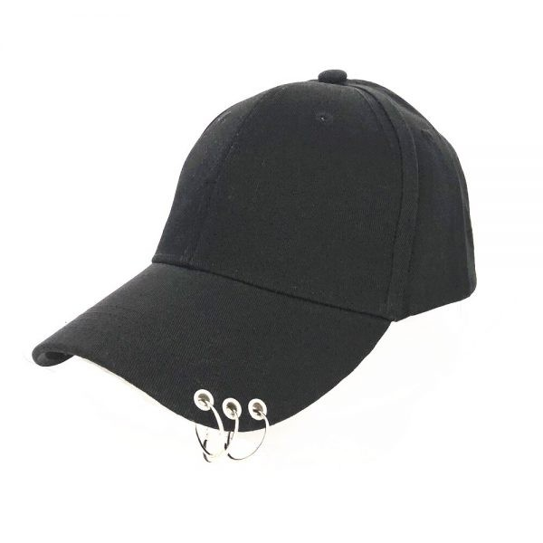 Baseball Cap with rings  3
