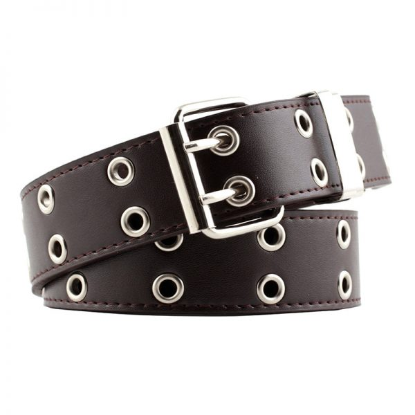 Fashion Belt Double/Single Row Holes and Chain 21