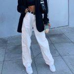 Fashion pocket hight waist Jeans 1