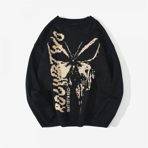 Harajuku Fashion Butterfly Knitwear Sweater 7