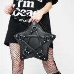 Gothic Pentagram Shoulder Bag 1
