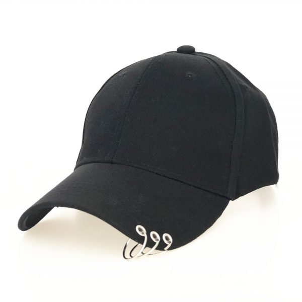 Baseball Cap with rings  1