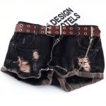 Fashion Belt Double/Single Row Holes and Chain 28