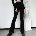 E-girl Goth Aesthetic, Grunge style black pants
