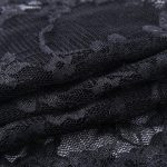 Gothic Set - Lace Crop Top with Long Sleeves and Dress 6