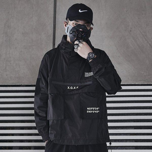Harajuku Dark Cargo Jacket  3