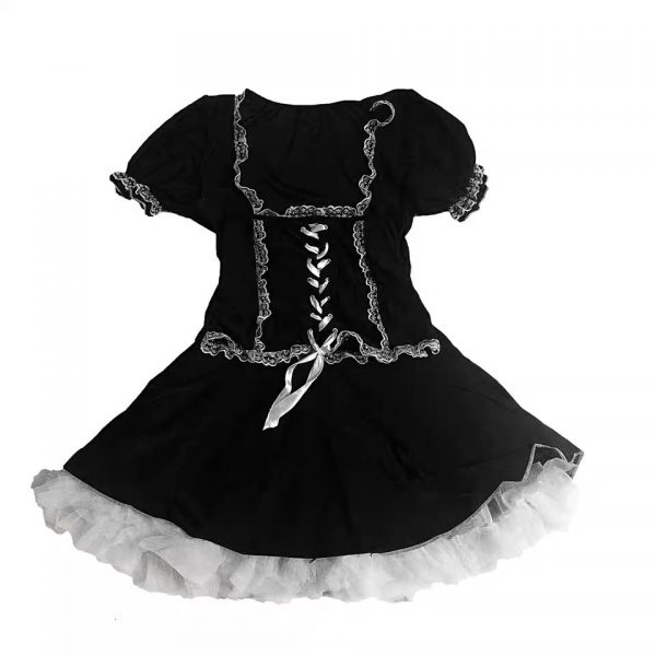 Gothic Lace Dress 5