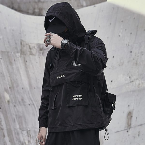 Harajuku Dark Cargo Jacket  1