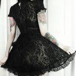 Vintage Lace Gothic Dress 3