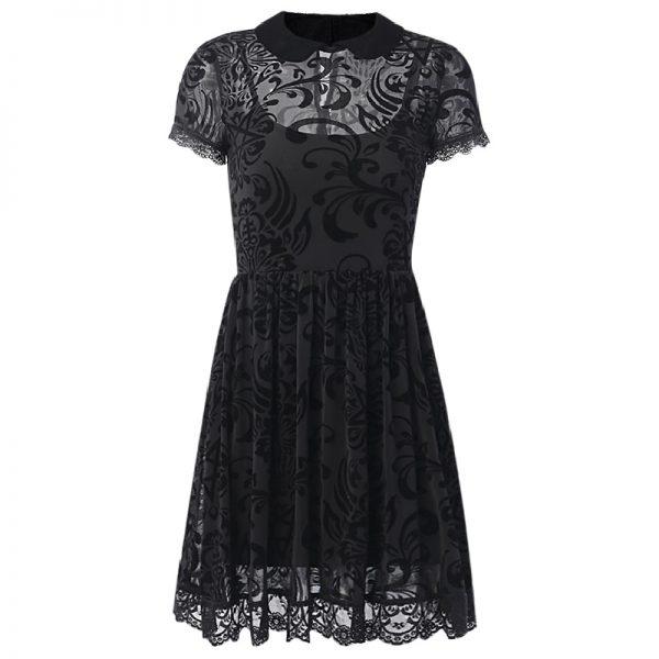 Vintage Lace Gothic Dress 5