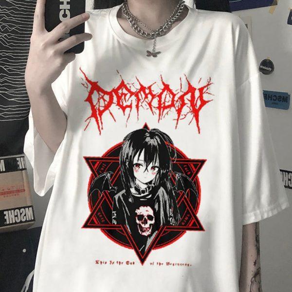 Aesthetic Gothic Harajuku T-Shirt 3