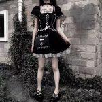 Gothic Lace Dress 2
