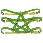 Gothic style Pentagram Garter belt with spikes 26