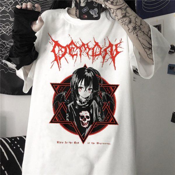 Aesthetic Gothic Harajuku T-Shirt 4