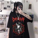 Aesthetic Gothic Harajuku T-Shirt 2