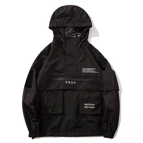 Harajuku Dark Cargo Jacket  4