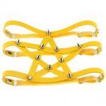 Gothic style Pentagram Garter belt with spikes 4