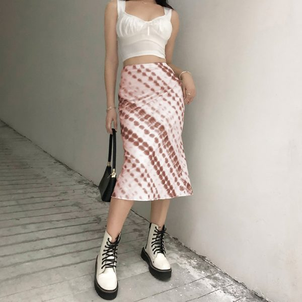 Y2K Long Mid-Calf Straight Skirts 14