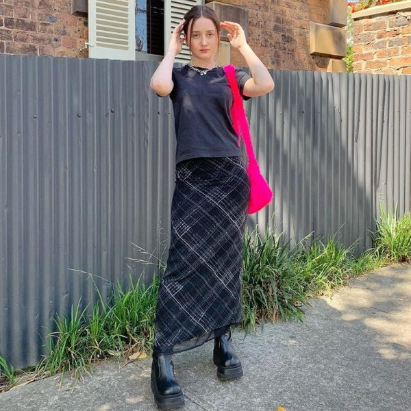 Double Layer Long Skirts 1