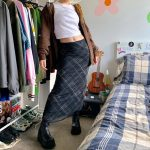 Double Layer Long Skirts 2