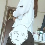 Canvas Shopping Bag with Anime One-Punch Man print 3