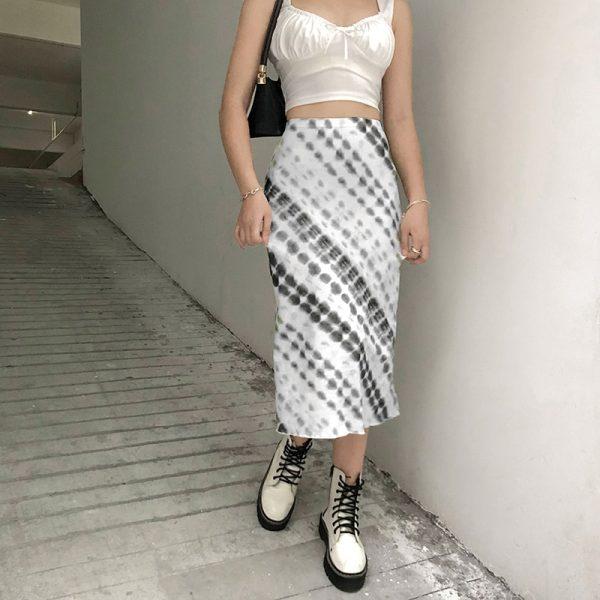 Y2K Long Mid-Calf Straight Skirts 13