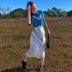 Y2K Long Mid-Calf Straight Skirts 10