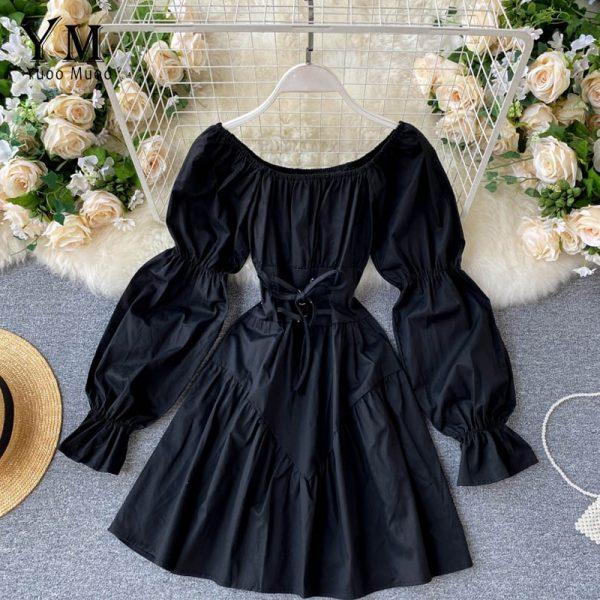 Retro Gothic Mini Dress 2