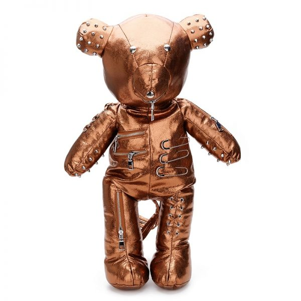 Punk Bear Backpack 3