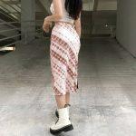 Y2K Long Mid-Calf Straight Skirts 16