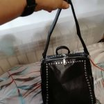 Genuine Leather Backpack with Rivets photo review