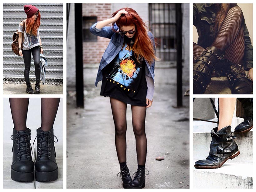 Grunge shoes | Grunge clothes | Grunge outfits | Soft Grunge clothes | Grunge clothes shop | Grunge style