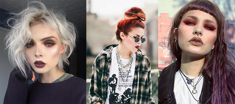 Grunge Hair and makeup | Grunge clothes | Grunge outfits | Soft Grunge clothes | Grunge clothes shop